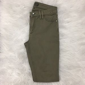 Green Abercrombie and Fitch pants